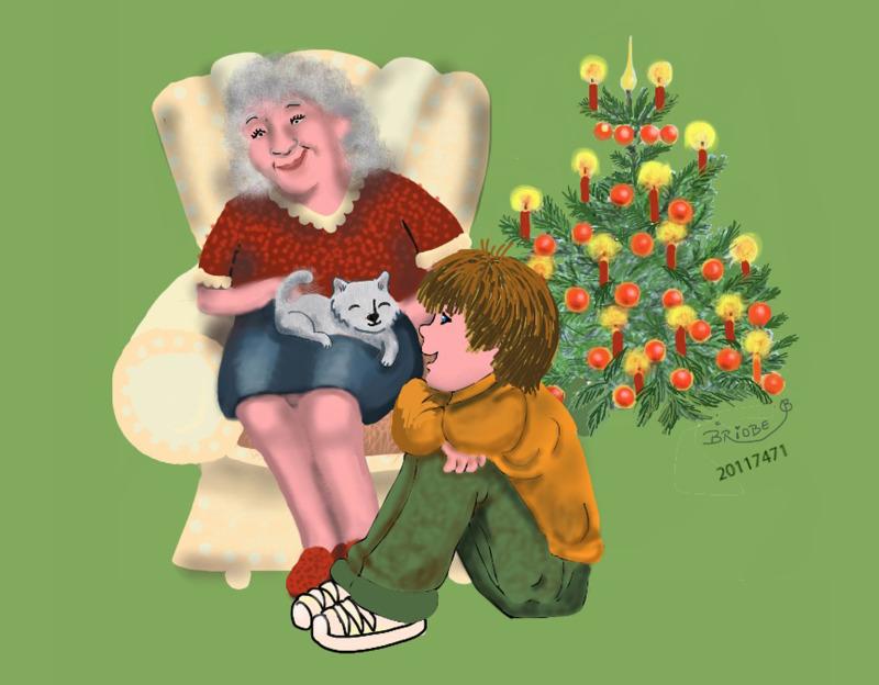 Der Letzte Weihnachtsbaum.Der Letzte Weihnachtsbaum 4 Teil Die Alte Frau Und Die